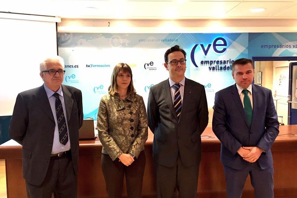 Angela de Miguel , Dimitri Barua, Julio Pinto y Jose Ignacio Lucas
